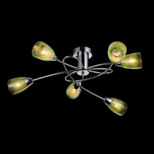 Светильник Freya FLASH FR5103-CL-06-GN (FR103-06-GN)