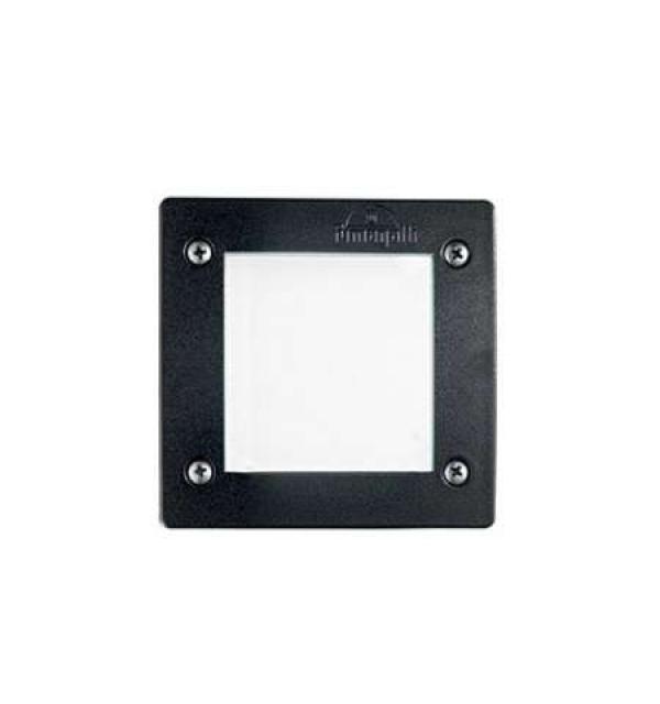 Светильник Ideallux LETI SQUARE FI1 NERO 096582