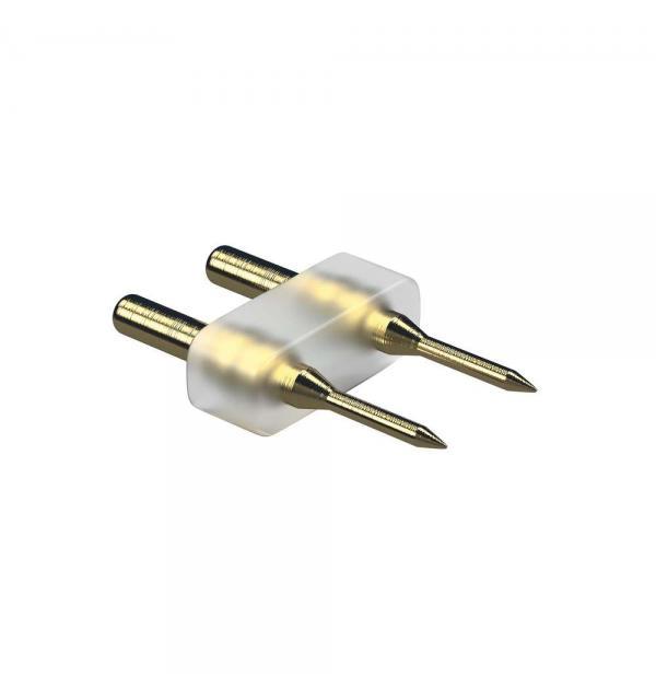 408902 Соединитель 2-штырьковый для ленты 220V 3528/60 3014/120 (питание-лента)