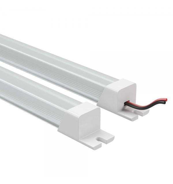 409122 Лента в PVC-профиле PROFILED 400022 12V 19.2W 240LED 3000K прямоуг.расс.мат-л: пластик,1шт=2м